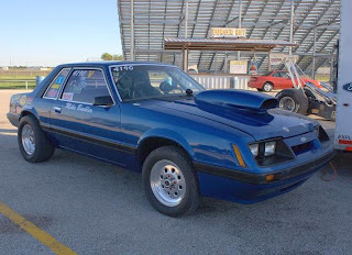 1986 Ford Mustang GT Fox-Body Side View
