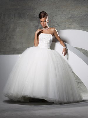 Go and pick out a big poofy dress and have a winter weddingyour dress