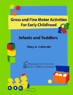 Gross and Fine Motor Activities for Early Childhood booklet