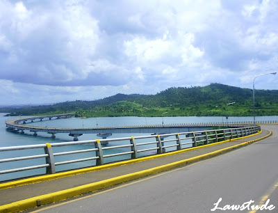 San Juanico Bridge http://www.lawstude.net/2009/06/passing-through-san-juanico-bridge.html