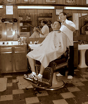 Tri-State Daily Photo: Shave and a Haircut - 2 bits