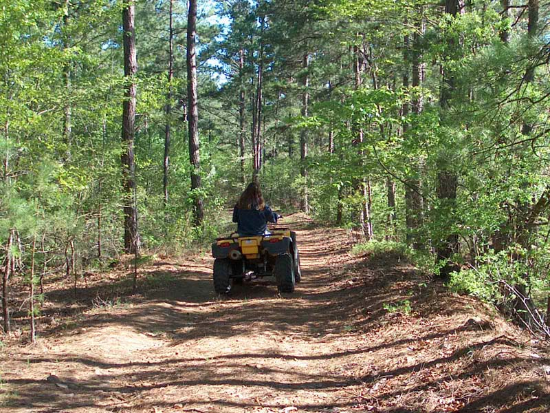 Stretching the one income dollar tuesday october 5 2010 for Atv parks in texas with cabins