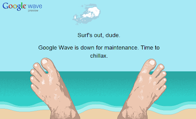 Google Wave: Down