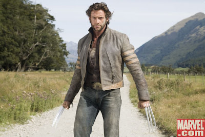 Le film Wolverine produit par les studios FOX et avec Hugh Jackman  l'affiche