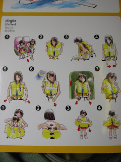 nok air safety card