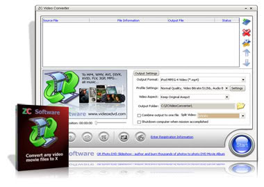 ZCVideoConverter v198222 ZC Video Converter Download | Converta todos os formatos de mídia softwares gravacao cddvd