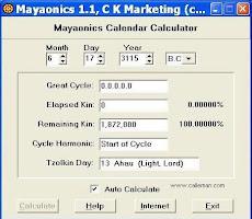 Για να υπολογίσετε την γεννέθλια ημέρα σας στο Τζόλκιν ημερολόγιο των Μάγιας