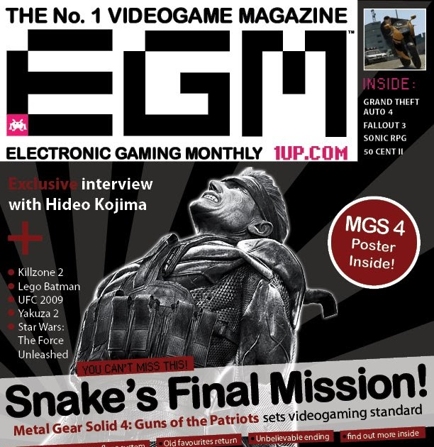 khoi's portfolio [w\/commentary]: Electronic Gaming Monthly Magazine Cover