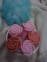 Rosas em Sabonete.