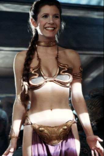 princess leia slave girl. Random Princess Leia