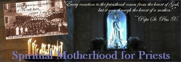 Spiritual Motherhood for Priests