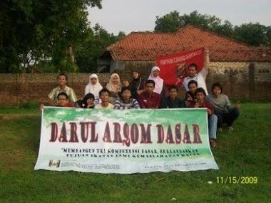 Darul Arqom Dasar PK. Cakraningrat 13-15  November 2009