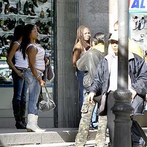 prostitutas chupando prostitutas gran via madrid