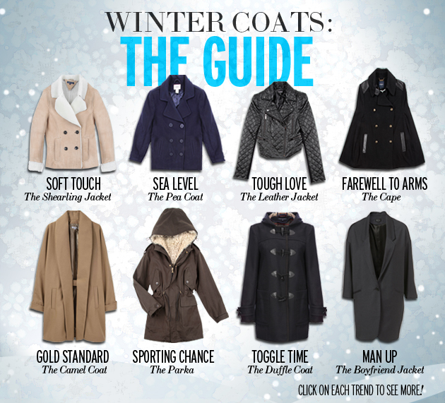 SoFashioNateD: The 2010 Winter Coat Shopping Guide - Shop the ...