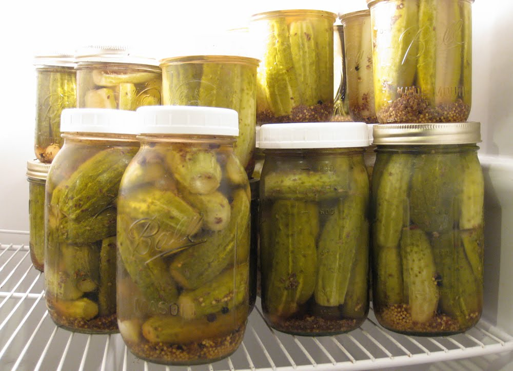 Refrigerator Dill Pickles - Spicy has a new name! - Authentic Arts ...
