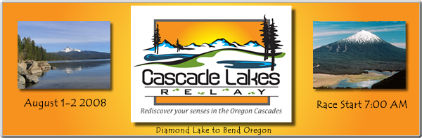 Diamond Lake to Mount Bachelor Relay