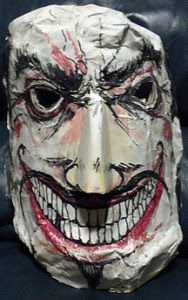 Halloween Craft: Make Halloween Masks with Paper Mache
