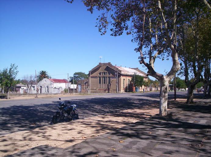 Edificio de la vieja Usina de UTE que aún se conserva
