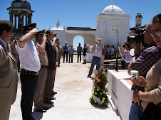 Homenaje a los caídos en 1910 a 100 años de creación de la división Nº 11  en el pueblo