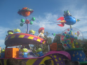 Toystory float and Disney land (japan disney toystory)