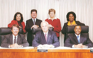 The Daytona Beach City Commission, presiding over Daytona Beach's egregious fiscal waste and other abuses