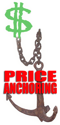 The Psychology of Selling: Price Anchoring