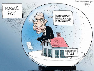 Alan Greenspan - Bubble Boy