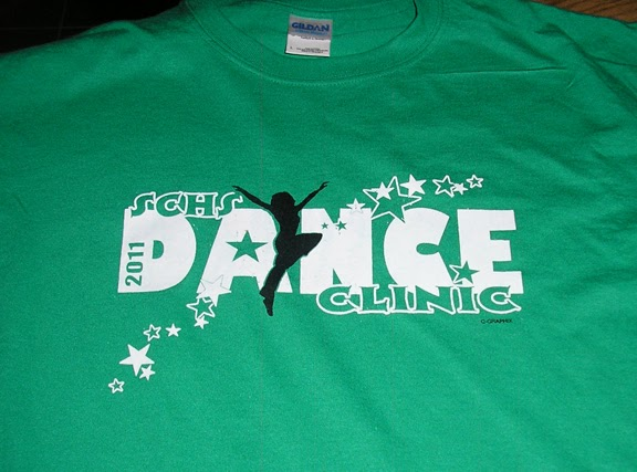 Squid ink tees t shirts banners and more schuyler dance for College dance team shirts