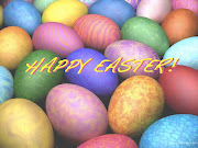 Happy Easter! I hope everyone has a wonderful day and gets lots of sweet . happy easter sign