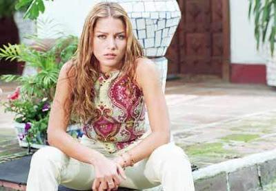 Actriz Adriana Fonseca