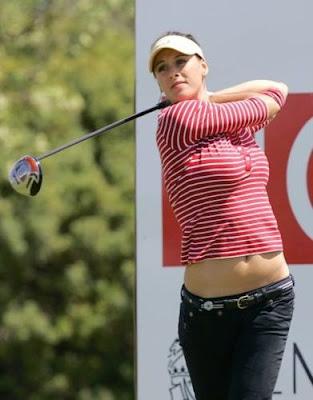 Golfista Maria Verchenova