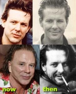 FOTOS DE MICKEY ROURKE