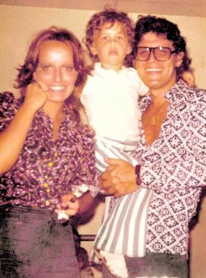 Regina Alcover y su familia (Joe Danova y Gian Marco)