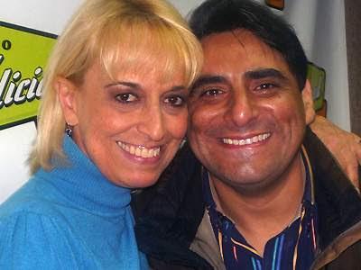 Regina Alcóver con Carlos Alvarez