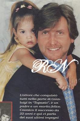 Víctor Cámara y su hija