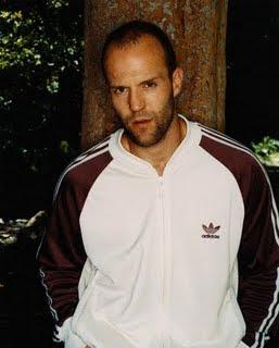 Jason Statham con buzo
