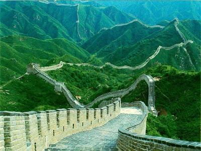 La Gran Muralla de China, de día