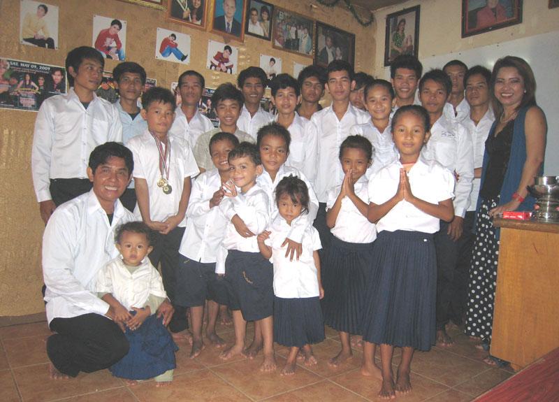 Si tous les enfants du monde mission cambodge for Portent mission