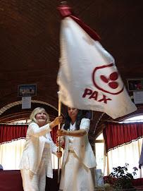 Bandera de la Paz para Shambala