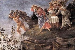 Cuadro de las Tentaciones de Cristo