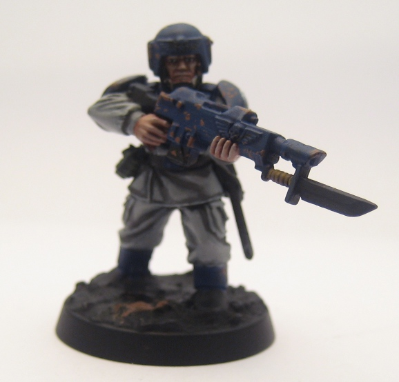 Cadian 77th Expeditionary Force: Painting a Guardsman, the ...