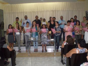 ENCERRAMENTO DA CAMPANHA DOS 40 DIAS DE JEJUM E ORAÇÃO