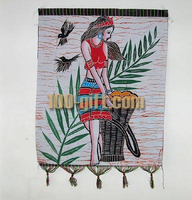 New goblog tattoos karya karya motif batik china for Chinese mural painting