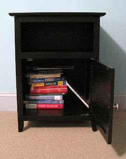 Opened Side Table