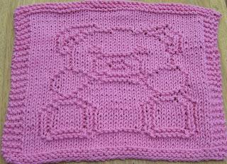 Knitted Teddy Bear Dishcloth Pattern : DigKnitty Designs: Teddy Bear Knit Dishcloth Pattern