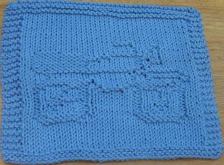 DigKnitty Designs: Motorcycle Knit Dishcloth Pattern