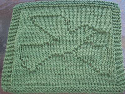 Dove Knitting Pattern : DigKnitty Designs: Dove Knit Dishcloth Pattern
