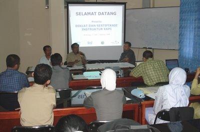 Pembukaan Diklat dan Sertifikasi Instruktur KKPI WS Bontang