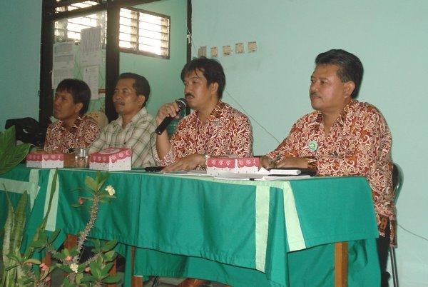 Penutupan Kegiatan IHT di SMPN I Bontang.