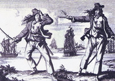 anne bonny and mary read female pirates